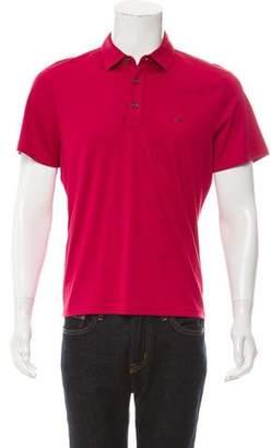 Michael Kors Short Sleeve Polo Shirt