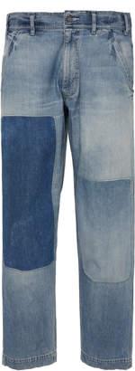 FABRIC BRAND Dust Bowl Mid-Rise Straight-Leg Jeans