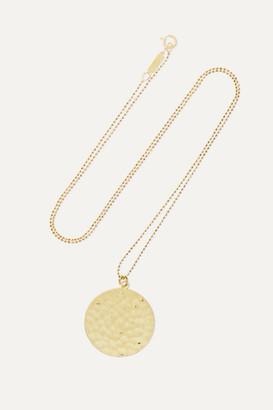 Jennifer Meyer Hammered 18-karat Gold Necklace