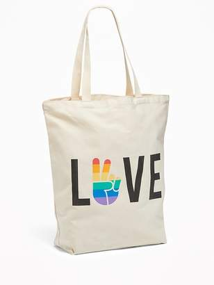 Old Navy Pride Graphic Canvas Tote