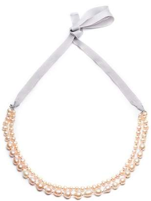 """Carolee Knotted Two Row Necklace, 16-36"""""""