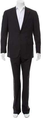 Isaia Two-Button Marled Suit