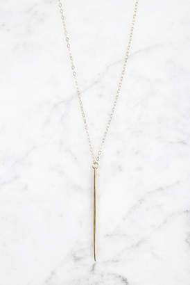 Love Poppy Gold Spike Layering Necklace