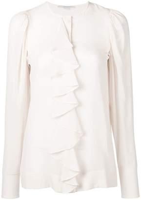 Stella McCartney ruffle front blouse