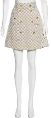 Marc by Marc Jacobs Quilted Knee-Length Skirt