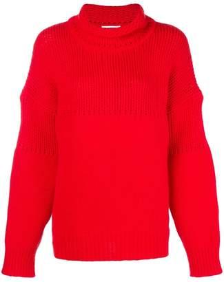 Jil Sander chunky knit jumper