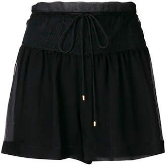Alberta Ferretti Pizzo shorts