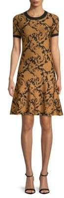 MICHAEL Michael Kors Paisley Jacquard Sheath Dress
