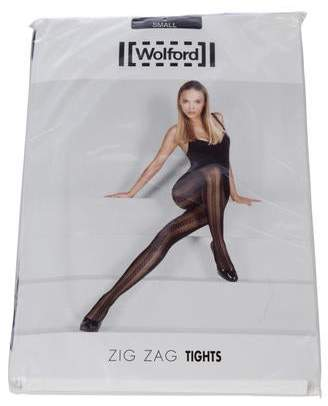 7754554c2 Wolford Zig Zag Patterned Tights w  Tags