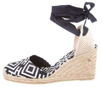 6d7acc684 Pre-Owned at TheRealReal · Tory Burch Canvas Espadrille Wedges