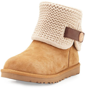 UGG Shaina Convertible Knit Boot $170 thestylecure.com