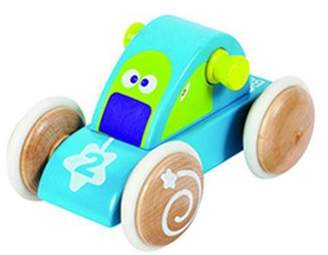 Boikido Comet Vehicle Wooden Push Along Space Toy