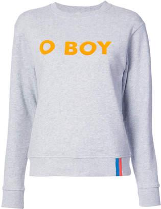 Kule o boy print sweatshirt