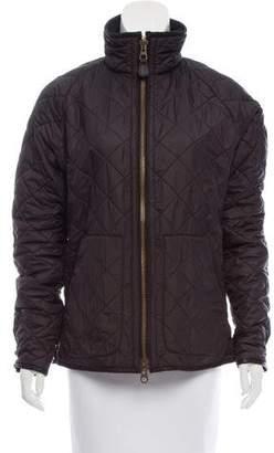 Ralph Lauren Black Label Quilted Zip Front Jacket