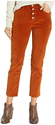 Levi's Womens 724 High-Rise Button Fly Crop