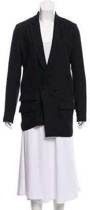 OAK Wool-Blend Casual Blazer