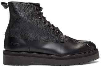 Saturdays NYC Black Darren Duck Boots