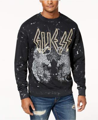 GUESS Men's Finch Tour Graphic Sweatshirt