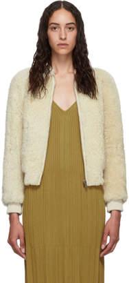 Isabel Marant Off-White Shearling Salvia Jacket