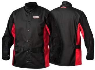 Lincoln Electric K2986 Shadow Split Leather Sleeved Jacket, Medium