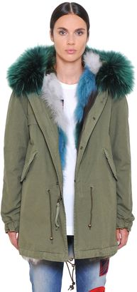 Canvas Parka W/ Fox & Murmansky Fur $6,755 thestylecure.com