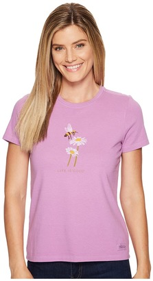 Life is Good Bumble Bee Daisy Crusher Tee $26 thestylecure.com