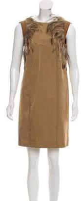 HUGO BOSS Boss by Sleeveless Mini Dress