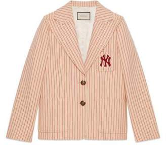 Gucci Silk wool jacket with NY YankeesTM patch