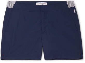 Setter Short-Length Striped Swim Shorts