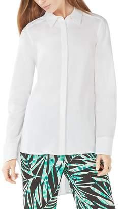 BCBGMAXAZRIA Aylin High/Low Shirt