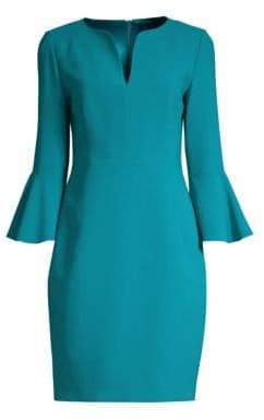 Elie Tahari Natanya Crepe Sheath Dress