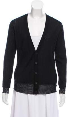 Undercover Wool Knit Cardigan