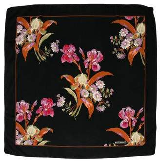 Cacharel Floral Patterned Scarf