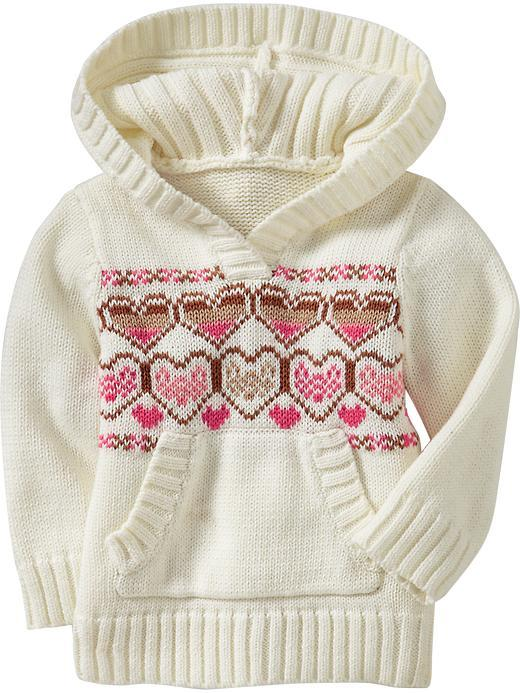 Old Navy Hooded Fair Isle Sweaters for Baby