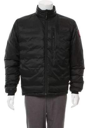 Canada Goose Zip-Up Puffer Coat