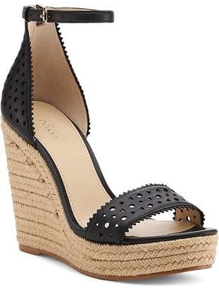 Botkier Women's Jamie Leather Espadrille Wedge Sandals