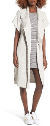 Women's Obey Lexington Knit Topper $68 thestylecure.com
