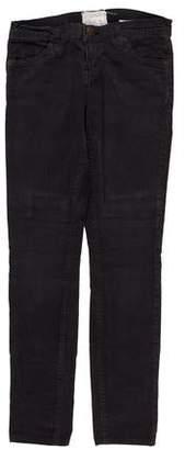 Current/Elliott Corduroy Mid-Rise Pants