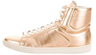 Saint Laurent Metallic SL/01H High-Tops