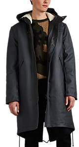 Stutterheim Raincoats Men's Jukkasjärvi Tech-Twill Parka - Black