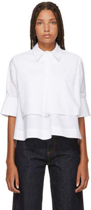 Carven White Layered Shirt