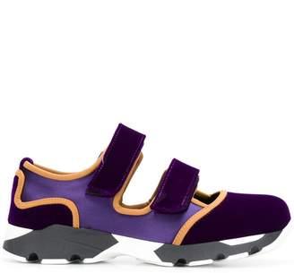 Marni contrasting sneakers