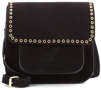Etoile Isabel Marant Isabel Marant, Étoile Étoile Mela embellished suede cross-body bag