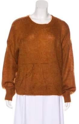 Etoile Isabel Marant Crew Neck Mohair Sweater