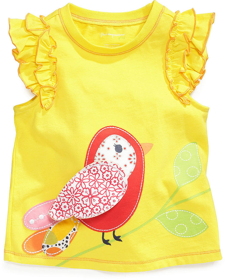 First Impressions Top, Baby Girls Graphic Top