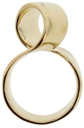 Marc by Marc Jacobs Womens Metal Ribbons Oversized Right-Hand Ring 6