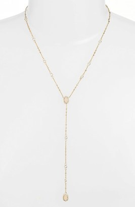 Women's Kendra Scott 'Claudia' Crystal Y-Necklace $130 thestylecure.com