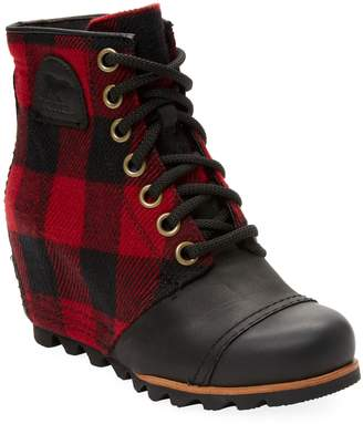 Sorel Women's Plaid Leather Boot