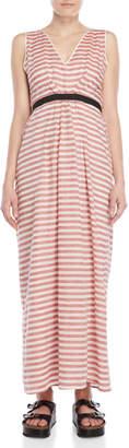 Tela Red Stripe Maxi Dress