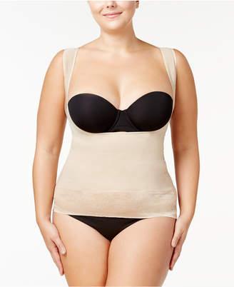Maidenform Women's Firm Foundations Curvy Plus Size Firm Control Lace-Hem Torsette DM1026